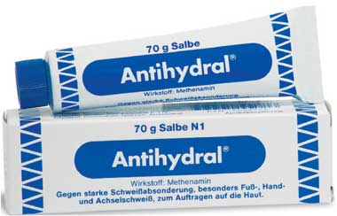 Creme antihydral Safety of