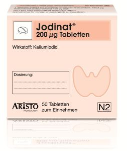 Jodinat 200 �g Tabletten 100 St�ck