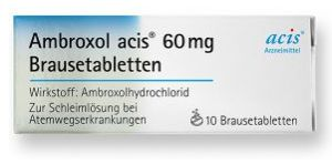 Ambroxol acis 60 mg Brausetabletten 10 St�ck