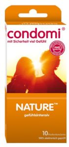 Condomi Nature Kondome 10 Stück