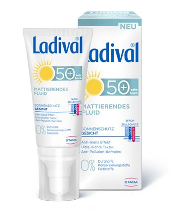 Ladival Mattierendes Fluid Sonnencreme LSF50+ 50ml